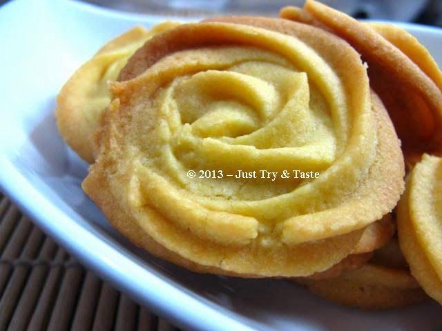 Cookies Bunga Mawar - Tanpa Telur! | Just Try & Taste