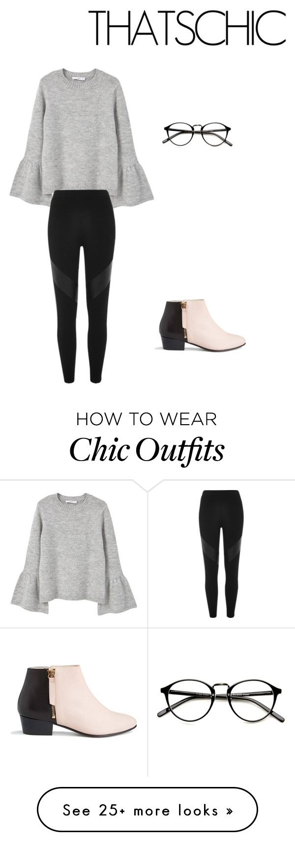 """""""Cozy"""" by ashbash11-1 on Polyvore featuring MANGO, River Island and Nine to Five"""