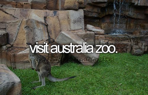 Bucket List - wanted to do this since I was a kid watching Crocodile Hunter