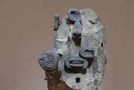 """Obra reciente de Pedro Reyes """"Uno de los materiales del momento en el arte es la roca"""" Pamela Echeverria. Galeria LABOR Ciudad de México."""