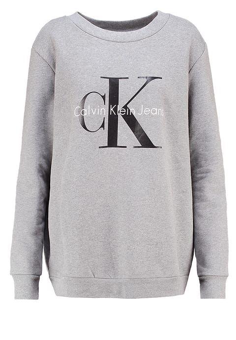Calvin Klein Jeans Sweatshirt - grey - Zalando.de