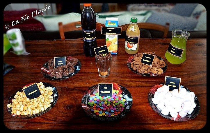 Goûter d'anniversaire Star Wars, Star Wars birthday party