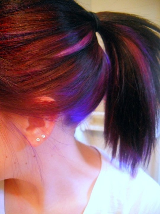 pink highlights for breast cancer next year?!