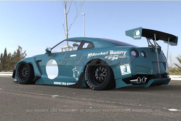 Rocket Bunny Nissan GT-R 2009-on Full Rocket Bunny R35 GT-R Wide-Body | EXOTICSPEED INC.