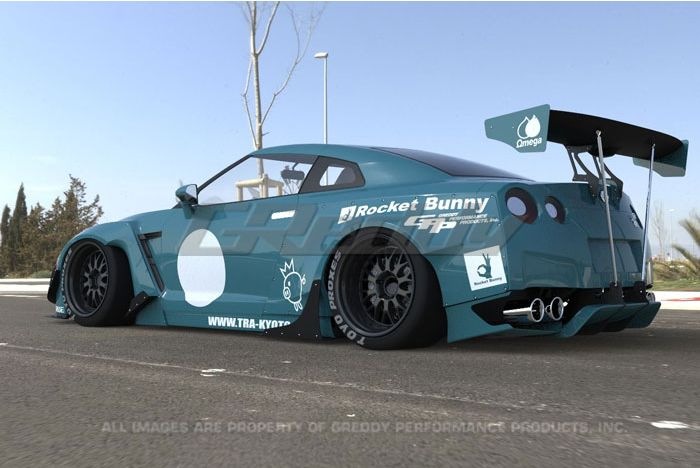 Rocket Bunny Nissan GT-R 2009-on Full Rocket Bunny R35 GT-R Wide-Body | EXOTICSPEED INC.