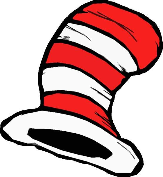 Cat In The Hat Clipart: Dr Seuss Hat Clip Art Cakepins.com
