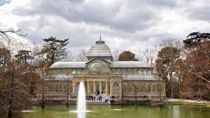 Palacio de Cristal, Parque del Retiro, Madrid, España, Spain