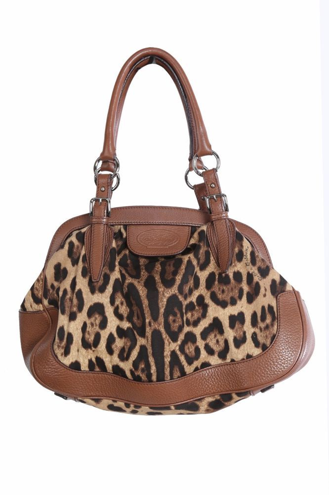 Dolce & Gabbana Animalier Leopard print  Handbag  | eBay
