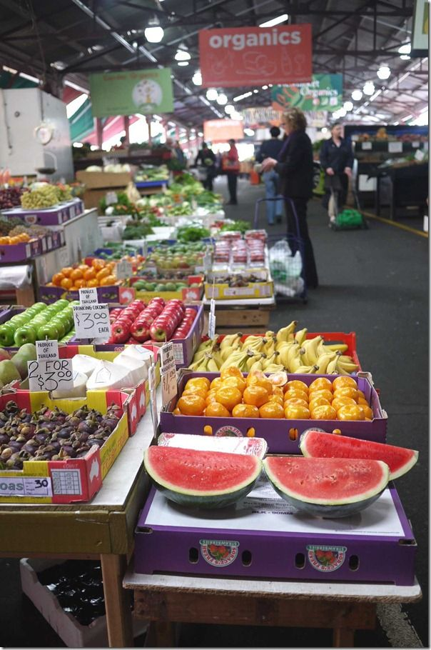 BEEN HERE!!! Fresh fruit markets, Queen Victoria Market, Melbourne