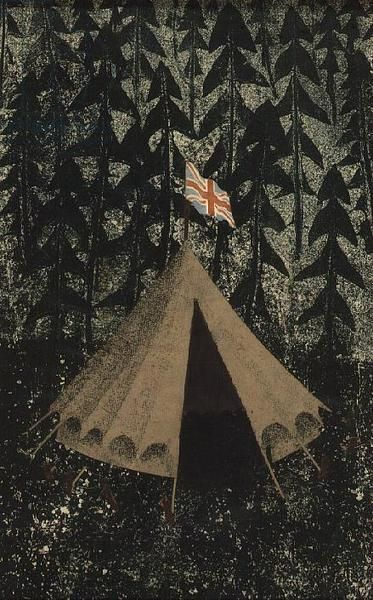 """""""The Tent"""" by Tirzah Ravilious née Garwood, c1940s"""
