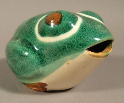 Keramická Žába Jako Kasička   eAntik - Starožitnosti