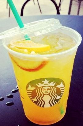 Peach Ring Tea - 35 Secret Starbucks Drinks You Didn't Know You Could Order OMG....