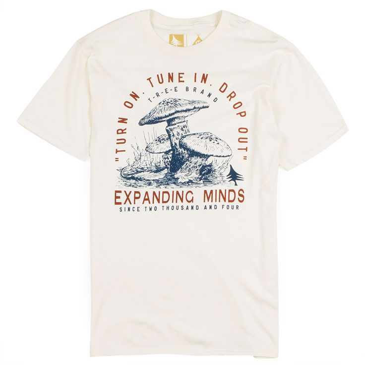 Hippy Tree Leary Mens Tee