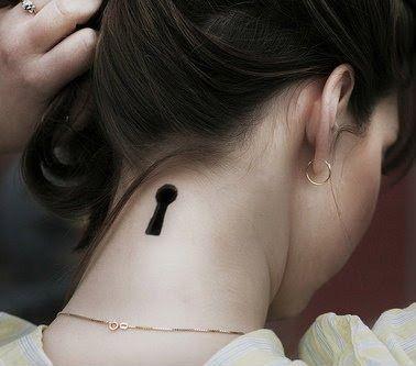 Desejando!  #malijones #tatto #fechadura #3D