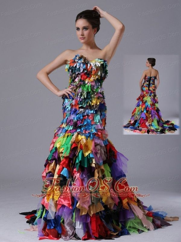 25  best ideas about Multi coloured prom dresses on Pinterest ...