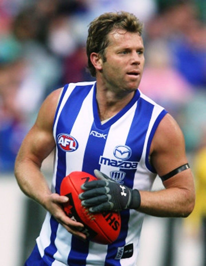 Glenn Archer. Played 1992-2007. Games North Melbourne 311. Premierships 1996, 1999. Norm Smith medal 1996.