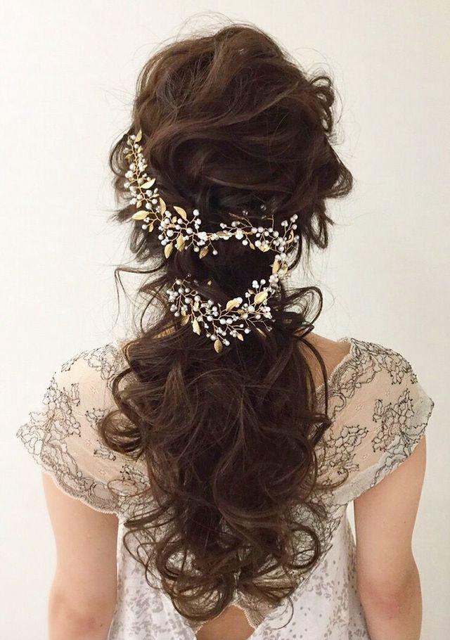 【wedding】小枝のヘッドドレス