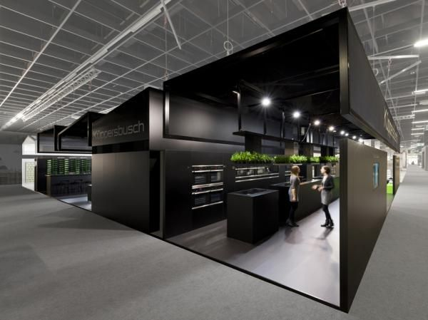 Project: Küppersbusch booth stand, Living Kitchen - bkp kolde kollegen GmbH