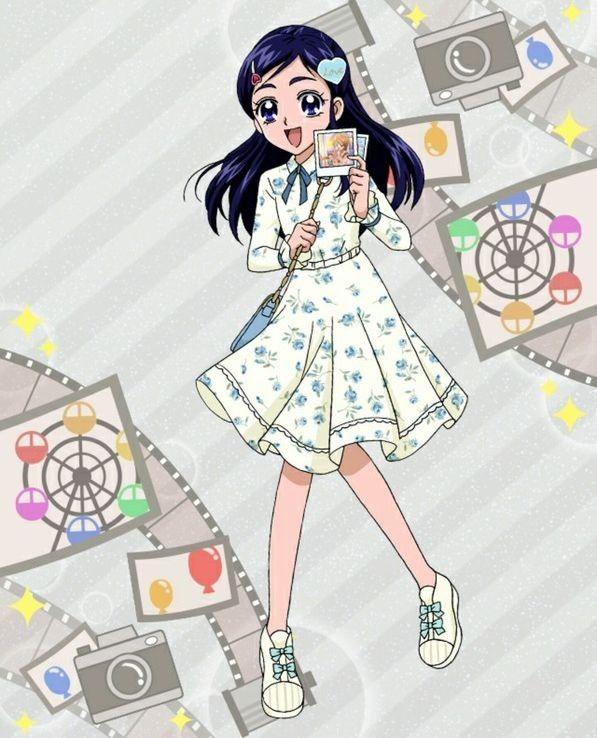 フェミニンフラワーワンピース ほのか プリキュア プリキュア イラスト アニメ絵
