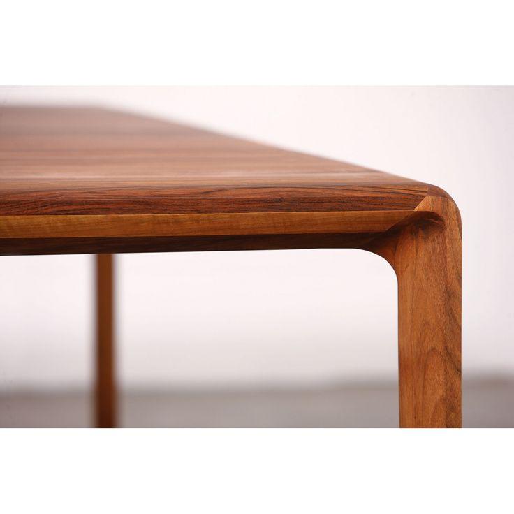Invito - Table extensible 160-250 x 94cm - Noyer - Salle à manger