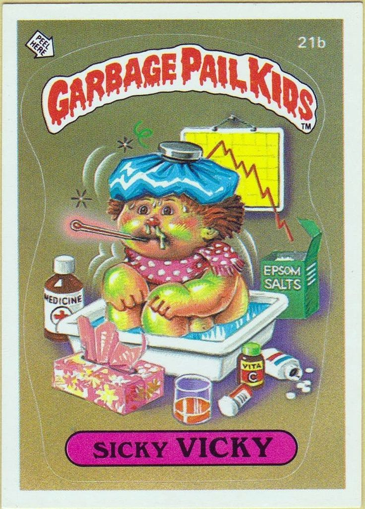 17 Best Images About Garbage Pail Kids On Pinterest