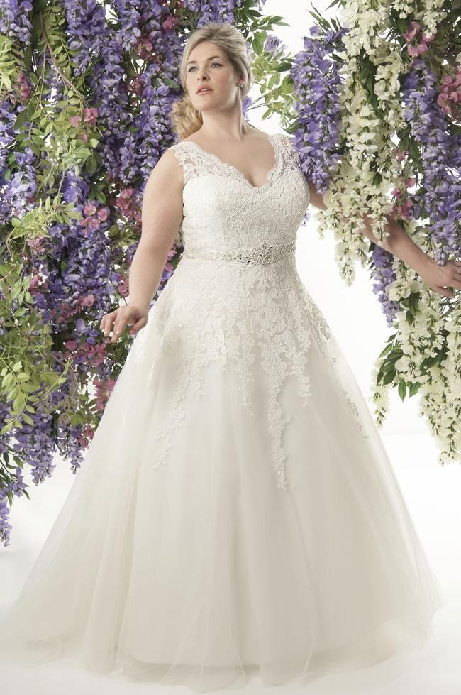 Vestidos de Noiva para Gordinhas: Modelos, Fotos
