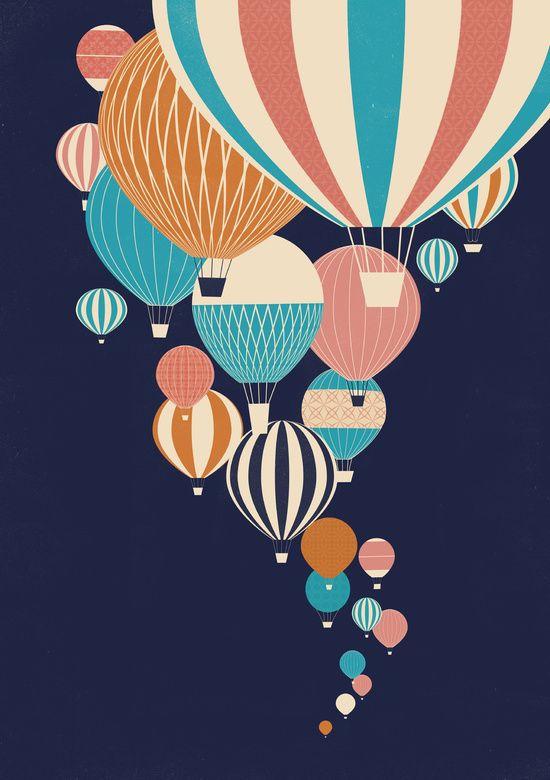 Poster | BALLOONS von Jay Fleck