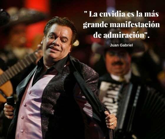 14 frases de Juan Gabriel que podrían ser canciones