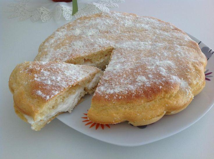 Torta Paradiso con glutine