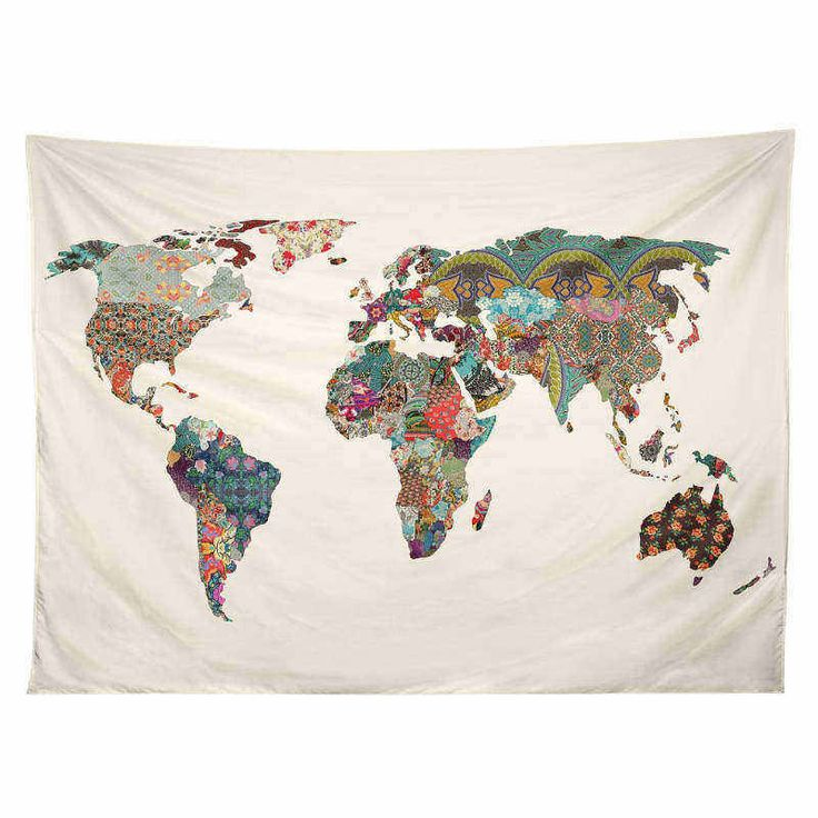 Cheap bedspread king, Buy Quality bedspread shop directly from China bedspread Suppliers:     World Map Tapestry Print Abstract Art Watercolor Home Decor Tapestry Wall Hanging 4 Sizes Bedspread Product Det