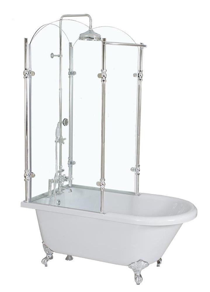 17 Best Ideas About Clawfoot Tub Shower On Pinterest Clawfoot Tub Bathroom
