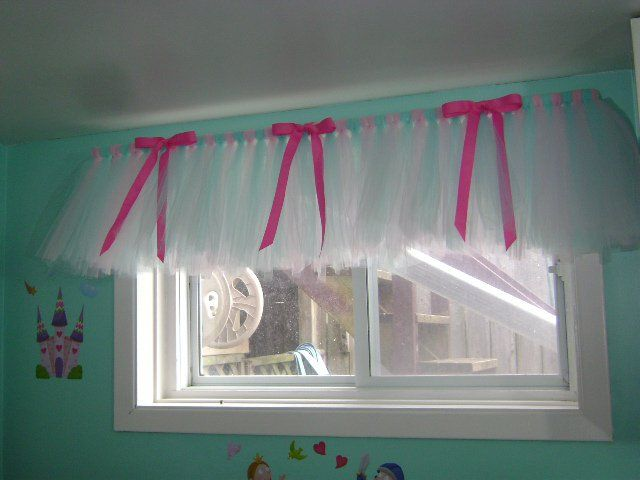 Tutu Valance...only in purple and white/grey.