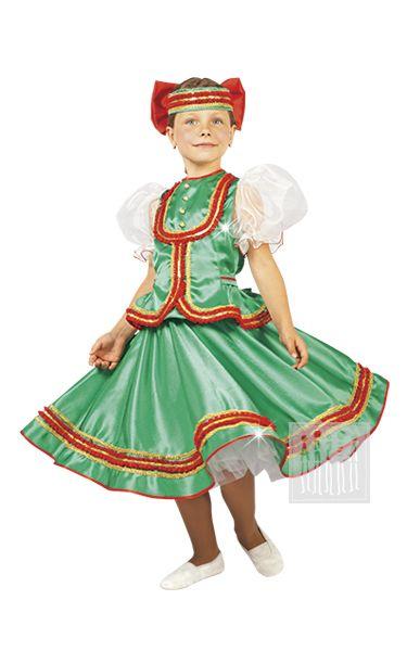 Карнавальный костюм Кадриль - костюм для девочки Костюм для народного танца…