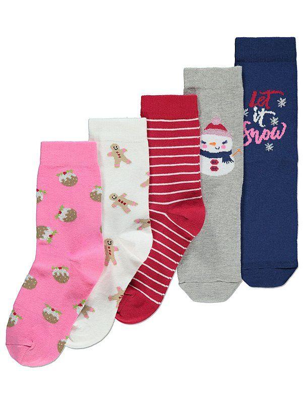 Pack | Women | George | Christmas socks
