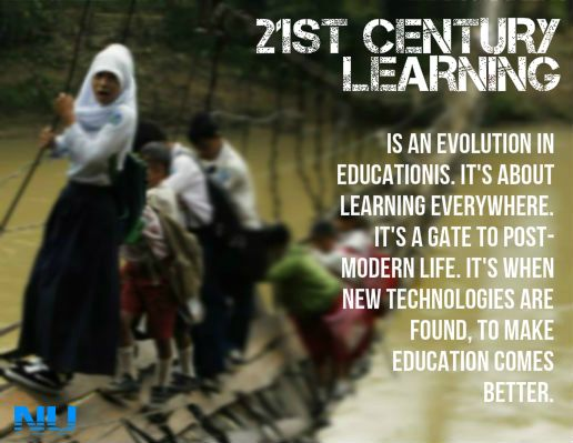 it's my opinion toward 21st century learning after joining curriculum development class