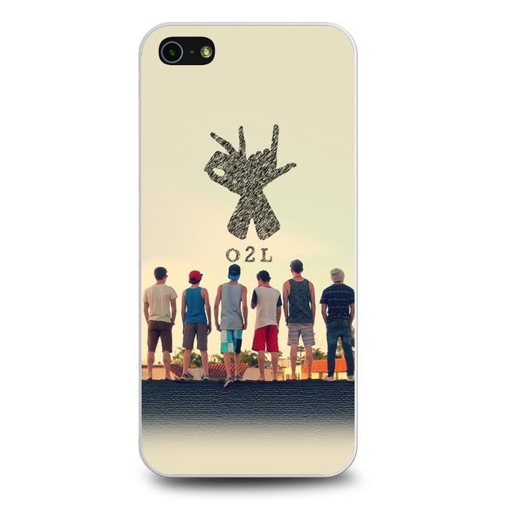 O2l Collage Hand Sign iPhone 5[S] Case