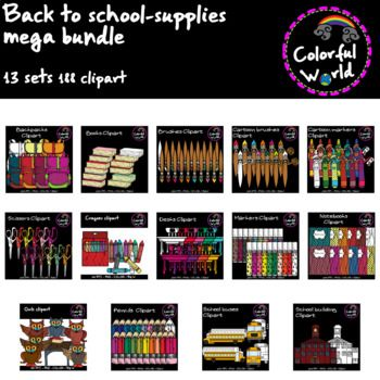 Back to school clipart-Mega bundle