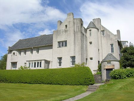 Charles Rennie Mackintosh (1868-1928) & Margaret Macdonald Mackintosh (1865-1933) - Hill House. Designed and Built for Walter & Anna Blackie. Helensburgh, Scotland. Circa 1902-1903.