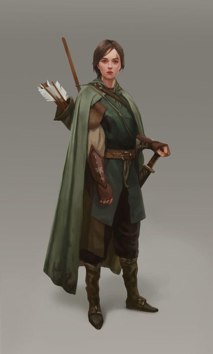 ArtStation - Archer, Kseniya Sibileva