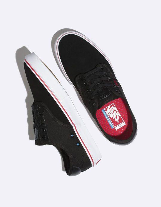29766006421f VANS Chima Ferguson Pro Black   Chili Pepper Kids Shoes