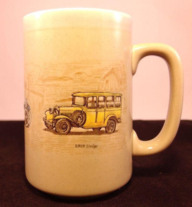 Vintage Gm General Motors Souvneer Collector Mug Made In Japan