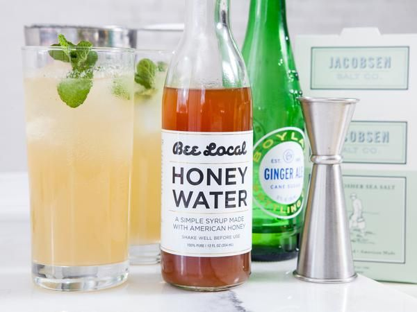 Honey Buck Cocktail Honey Recipes Fun Drinks Honey