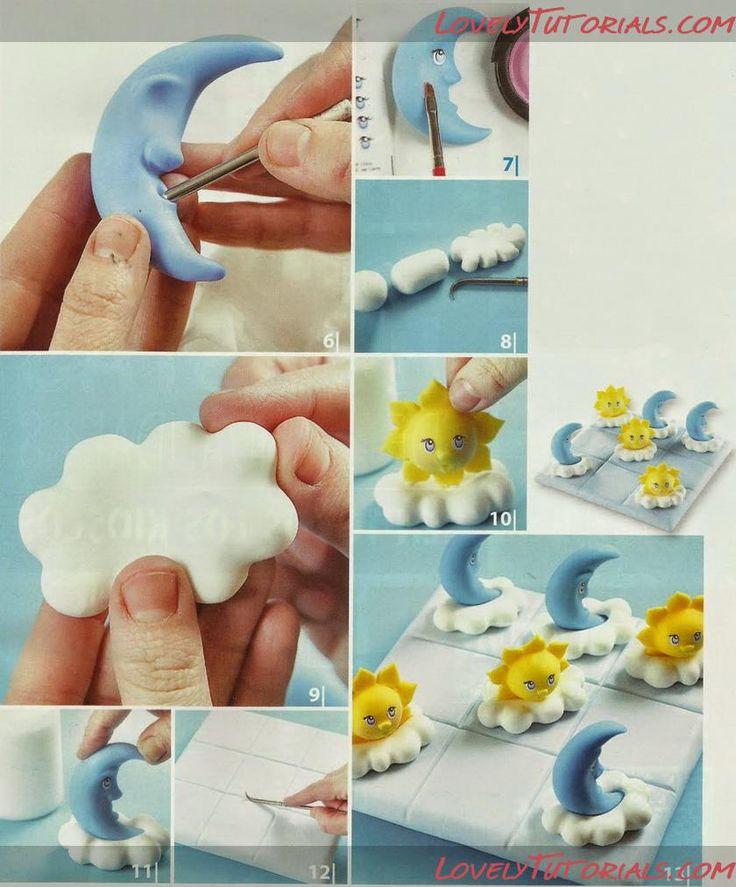 изучим все изделия из мастики пошагово фото ещё многого