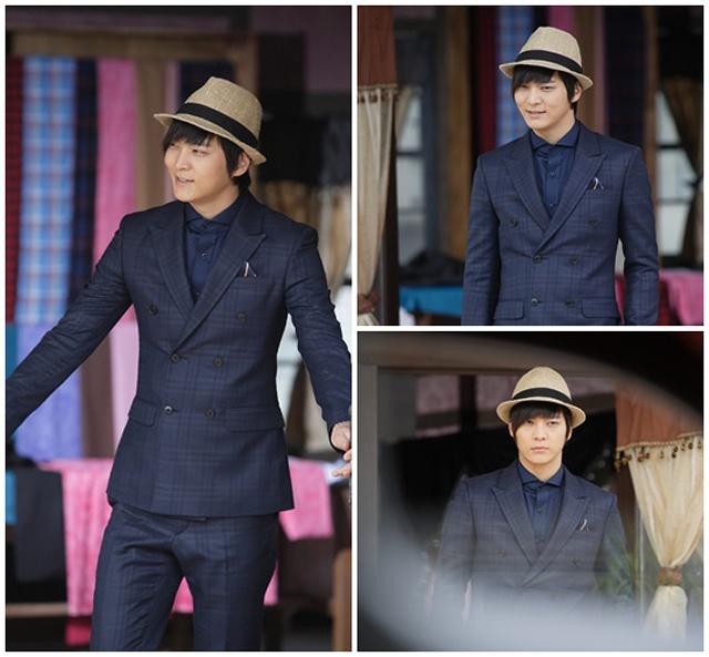 Joo Won in Bridal Mask