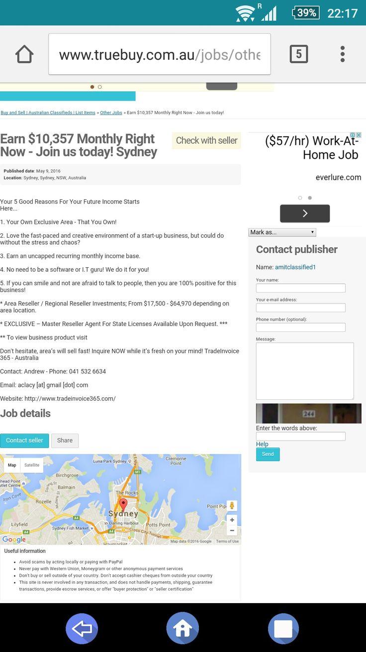 Selling in Sydney