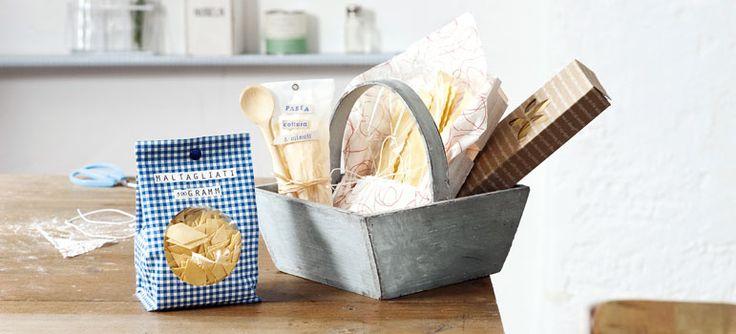 Geschenkideen aus der Küche: Faltpläne