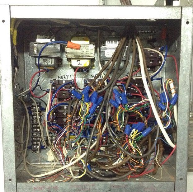 142 best electricians nightmare images on pinterest funny images rh pinterest com HVAC Control Wiring Basic HVAC Control Wiring