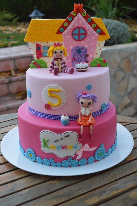 Lalaloopsy Cake Cakes And Cupcakes For Kids Birthday