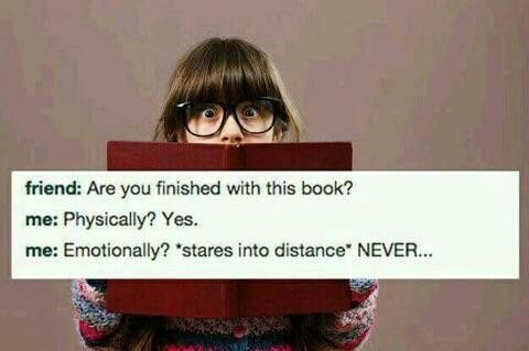 Escaping from a good book is impossible.
