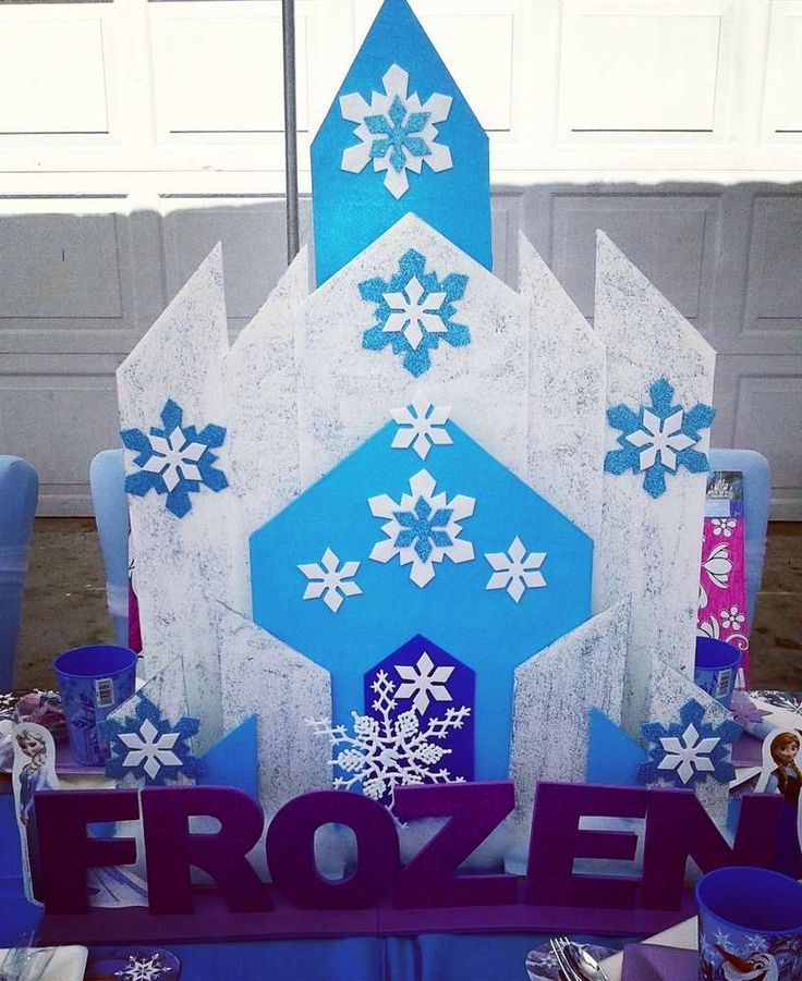 1074 best Frozen Birthday Party Ideas images on Pinterest Frozen